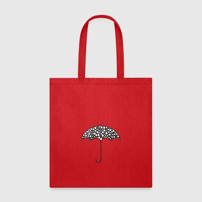 Umbrella Illustration - Tote Bag