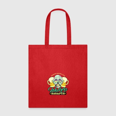 Zombie Walkers Bar and Pub - Tote Bag
