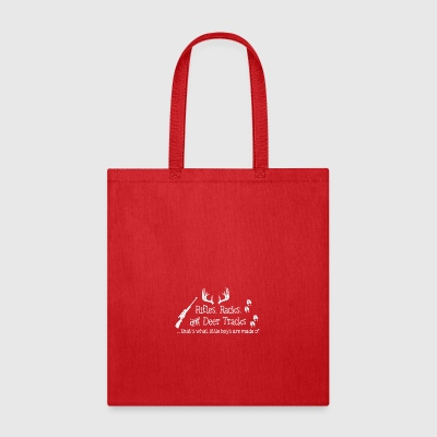 Rifles Racks and Deer tracks - Tote Bag