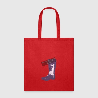 Gummy Boot lilac - Tote Bag