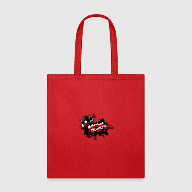 notorious graffiti logo - Tote Bag