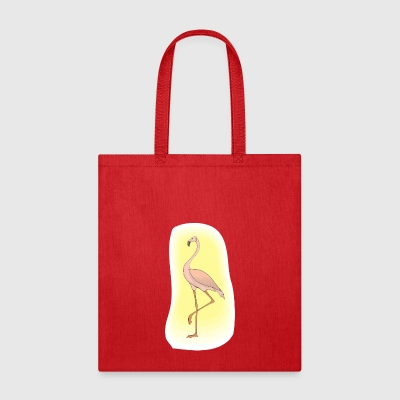 Flamingo Light Sun - Tote Bag