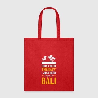 Bali T-Shirt Present Birthday Gift Idea Funny - Tote Bag