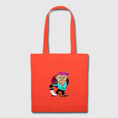 Skateboard Cat - Tote Bag