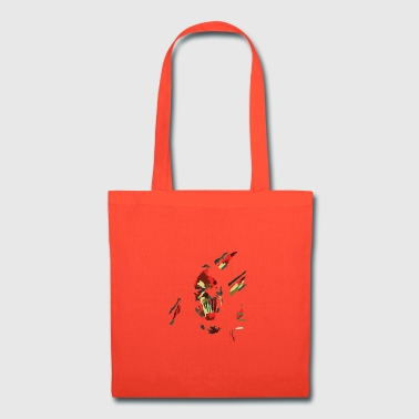 abstrac gothic face - Tote Bag