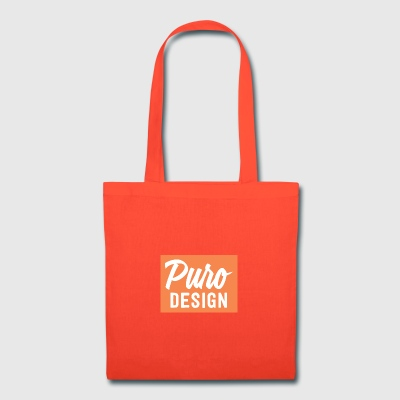 white_logo_color_background - Tote Bag