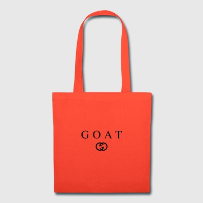 Goat - G Designer Design (Black) - Tote Bag