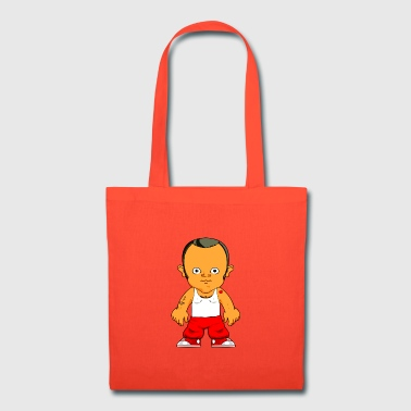 Little Gangster Comic Figure Crime - Tote Bag