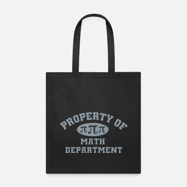 Math Property Of Math Department - Tote Bag