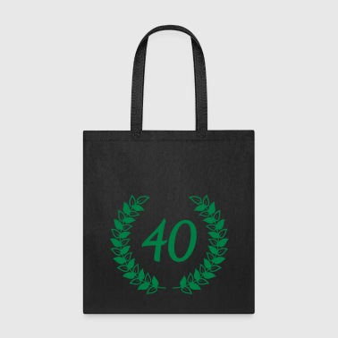 wreath birthday - Tote Bag