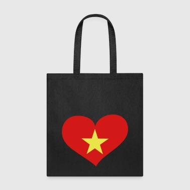 Vietnam Heart; Love Vietnam - Tote Bag