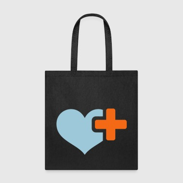 heart plus - Tote Bag