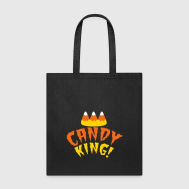 CANDY corn KING with crooked candy corn teeth - Tote Bag
