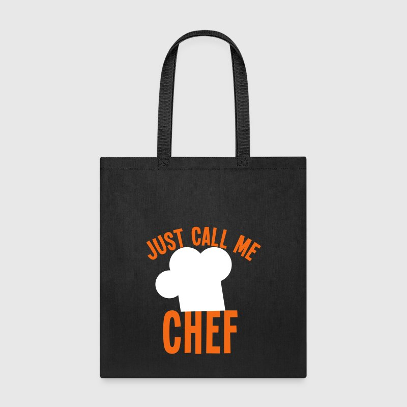 Just call me CHEF cook cooking funny - Tote Bag