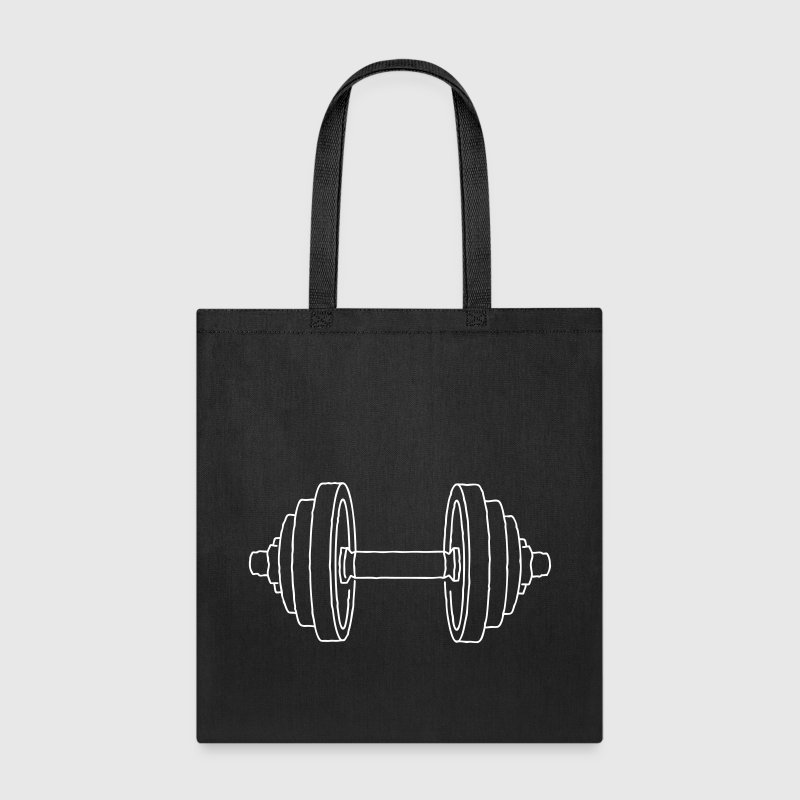 Dumbbell Weight - Tote Bag
