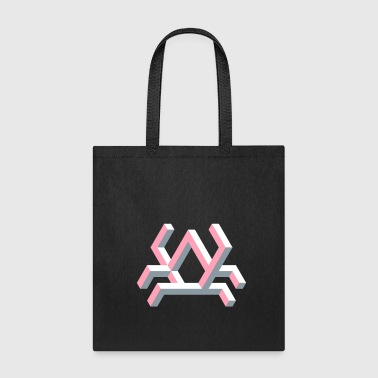 Impossible Figures 40A - Tote Bag