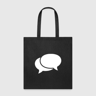 speech bubbles - Tote Bag