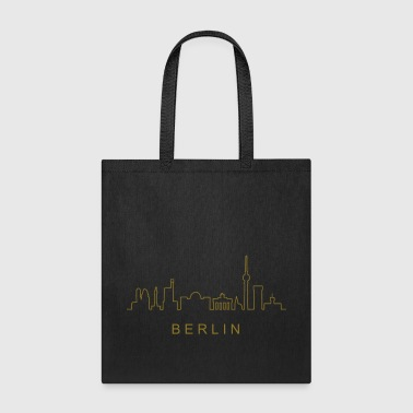 Skyline of Berlin - Tote Bag