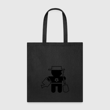 careers and professions: the gardener - Tote Bag