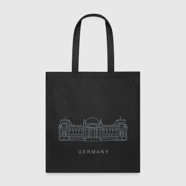 Reichstag building Berlin - Tote Bag