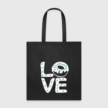 LOVE sweet donuts - Tote Bag