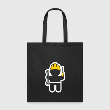 careers and professions: the locksmith - Tote Bag