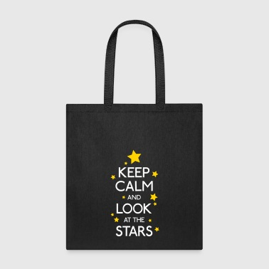 keep calm stars - Tote Bag