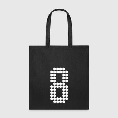 8, Numbers, Football Numbers, Jersey Numbers - Tote Bag