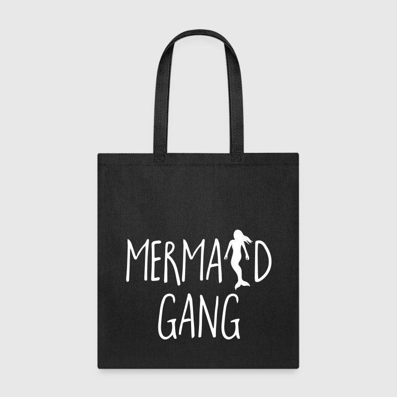 Mermaid Gang Funny Quote - Tote Bag