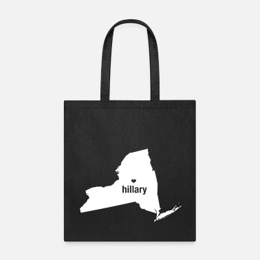New York Loves Hillary Clinton - Tote Bag