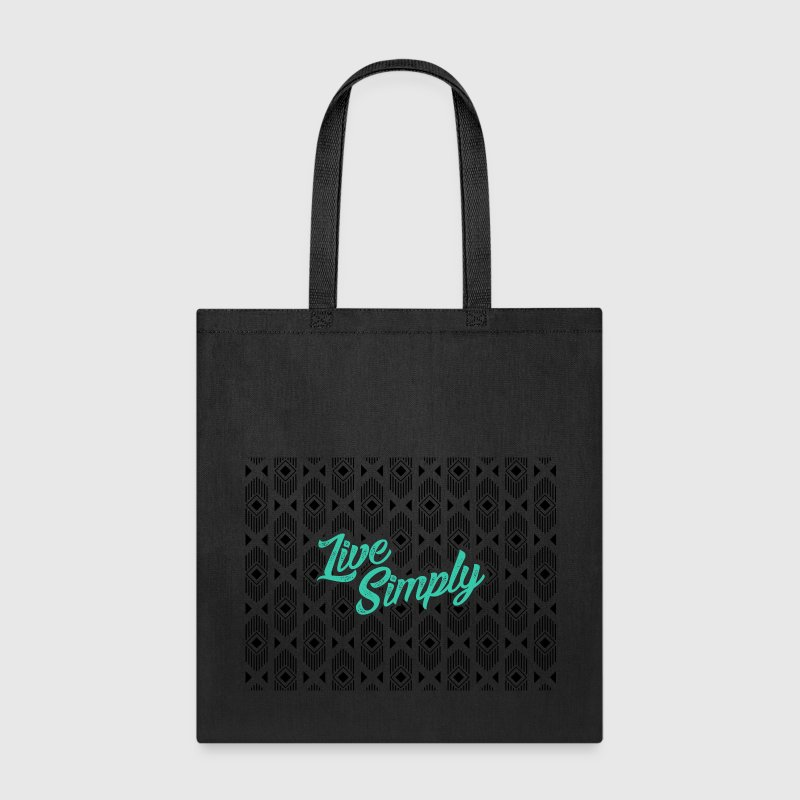 Live simply - Tote Bag