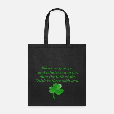 Poem Irish Poem - Tote Bag