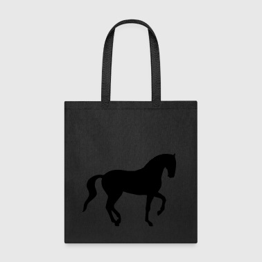 Dressage Piaffe Horse - Tote Bag