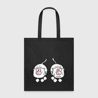 Amusing Cats - Cat - Kitten - Tote Bag