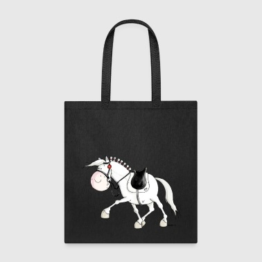 Dressage - Horse - Horses - Warmblood - Tote Bag