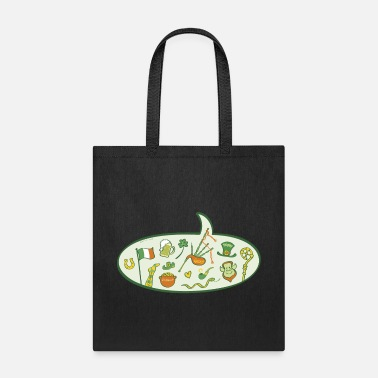 Speech Balloon Saint Patrick's Day Speech Balloon - Tote Bag