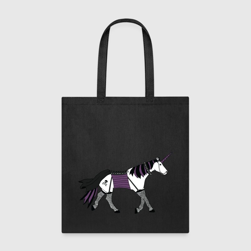 goth unicorn - Tote Bag