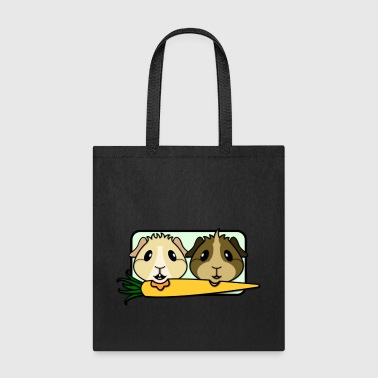 Guinea Pigs & Carrot - Tote Bag