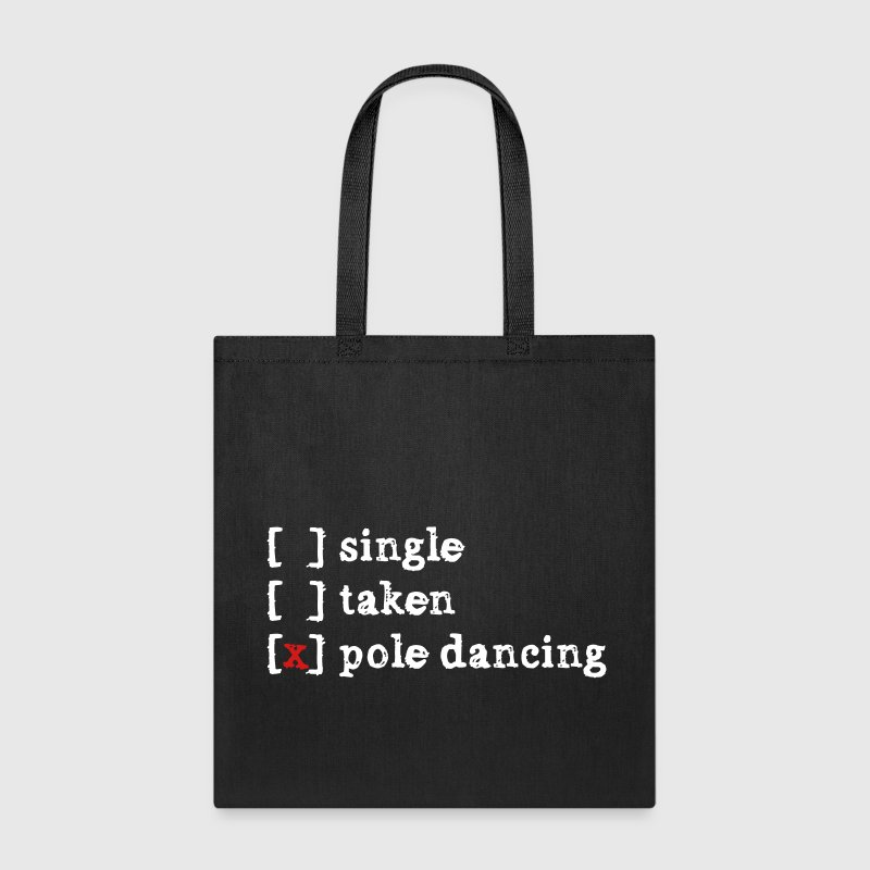 single taken pole dancing - Tote Bag