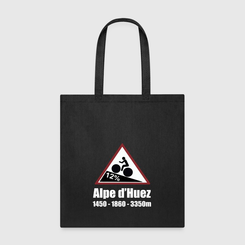 Alpe d'Huez Cycling Sign - Tote Bag