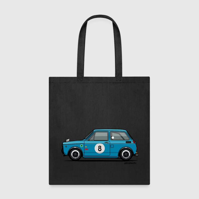 Honda N360 Blue Racing Kei Car - Tote Bag