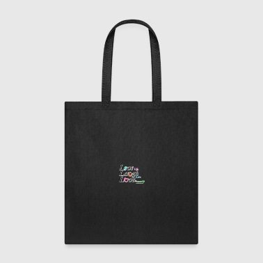 live life laugh lots love forever - Tote Bag