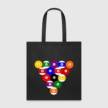 Eight-ball Rack, 8-Ball - Tote Bag