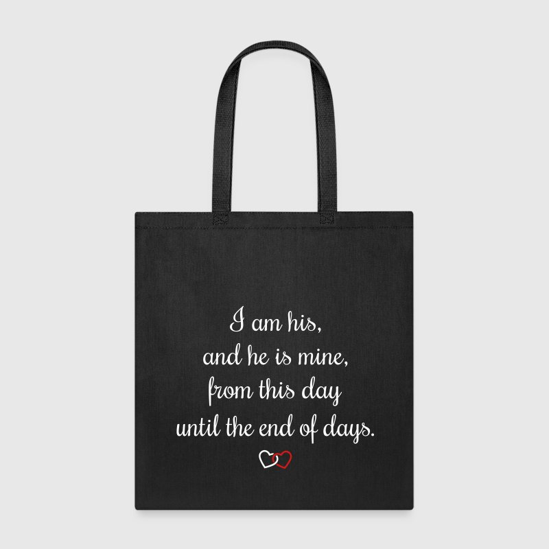 Romantic oath I am his - Tote Bag