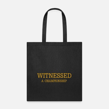 Witnessed - Tote Bag
