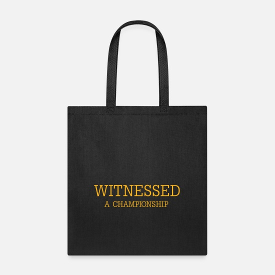 Championship Bags & Backpacks - Witnessed - Tote Bag black