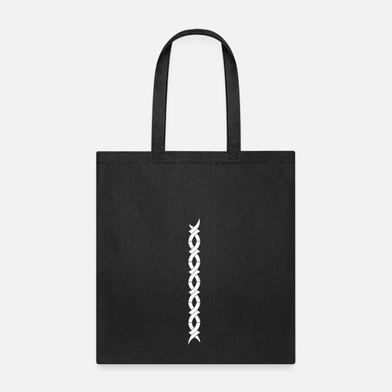 Pattern Bags & Backpacks - Ornament - Tote Bag black