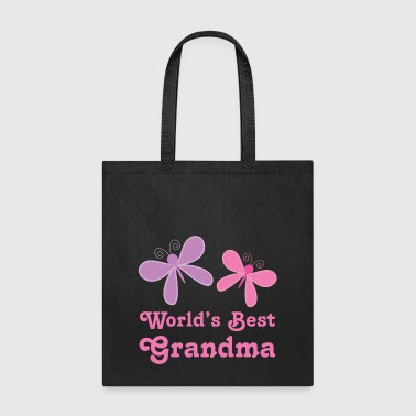 World's Best Grandma (butterfly) - Tote Bag