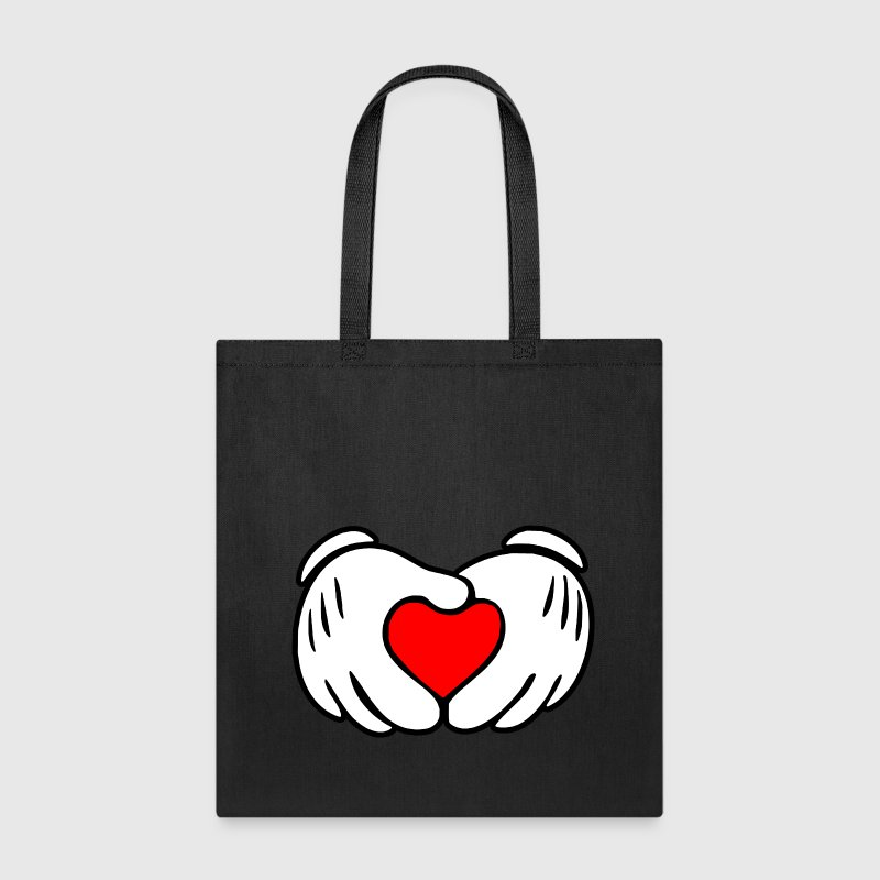 Mickey heart hands - Tote Bag