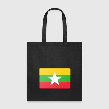 Burma Flag - Tote Bag